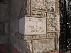 I'd put this as a cornerstone on a house that I built. Together, we are His house, built on the foundation of the apostles and the prophets. And the cornerstone is Christ Jesus Himself. Jesus Is Lord, Lord Lord, Son Of God, King Of Kings, Christian Faith, Christian Pics, Christian Church, Christian Quotes, Christian Inspiration