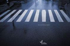 """""""One out of ten traffic victims is a pedestrian"""" by Ogilvy"""