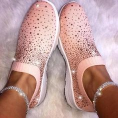 Women sneakers 2020 new breathable mesh casual shoes woman tenis feminino flat shoes female fashion bling sneakers women shoes Moda Sneakers, Ankle Sneakers, Slip On Sneakers, Casual Sneakers, Casual Shoes, Shoes Style, Ladies Sneakers, Platform Sneakers, Ankle Shoes