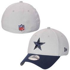 Dallas Cowboys New Era Thanksgiving On-Field 39THIRTY Flex Hat - Gray 27a2fc2ab