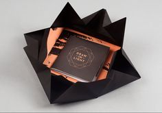 Draw In Light - lookbook packaging designed by We Are Useful