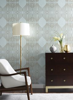 EDEN wallpaper by Candice Olson for York Wallcoverings