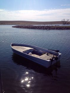 "Sea King build ""Quacked Skull"" - Page 4 Aluminum Fishing Boats, Aluminum Boat, Wooden Boat Plans, Wooden Boats, Duck Boat Blind, John Boats, Boat Restoration, Boat Projects, Float Your Boat"