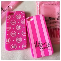 VS Pink phone cases!! #want!