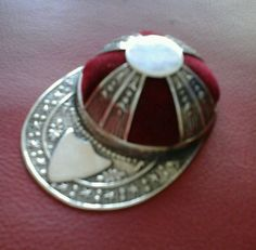 Jockey Cap Pin Cushion - Sterling Silver £21