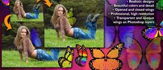 Fairy Wings Digital Props