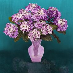 Hydrangea Blooms print available on Fine Art America.