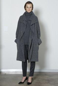 The Row Coat from FW13 : Minimal + Classic