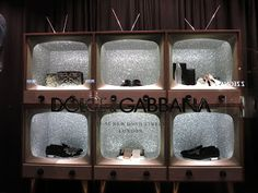 """DOLCE&GABBANA,London,UK, """"You don't own a Television? What's all your furniture pointed at?"""", pinned by Ton van der Veer"""