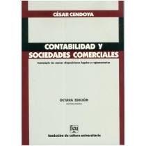 Contabilidad y sociedades comerciales/ César Cendoya