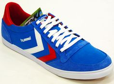 Slimmer Stadil Low Canvas Trainers   HUMMEL Retro Indie Mod Trainers