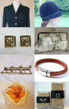 Equestrian Style! by eqjewelry on Etsy--Pinned with TreasuryPin.com