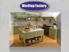 Green Granite Worktops by stargalaxygranitex, via Slideshare
