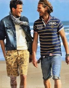 海に行く時はこれできまり!元気いっぱいタイプのサーフ系のコーデ。海の男のスタイル・ファッションのアイデア。