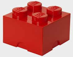 MONOQI | Sm. LEGO Storage Brick - Red