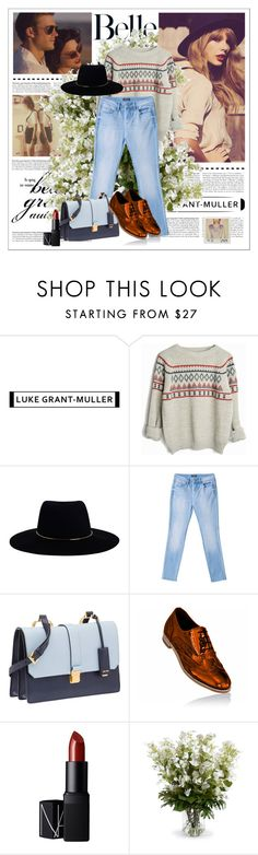 """Sin título #455"" by cano315 on Polyvore featuring moda, Zimmermann, Bebe, Miu Miu, NARS Cosmetics y New Growth Designs"