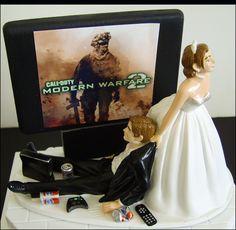 Gaming Wedding Cakes