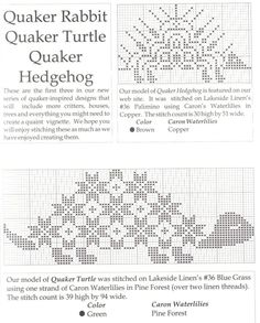 Cross-stitch Quaker Animals, part 6...    (1) Gallery.ru / Foto # 13 - 147 - tatasha