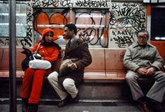 The New York Subway, by Christopher Morris
