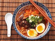 Homemade Shin Cup-Style Spicy Korean Ramyun Beef Noodle Soup | Serious Eats : Recipes
