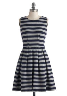 Wish Upon a Starboard Dress from Modcloth.  This is the perfect dress for fall.  It feels like it's made out of a sweatshirt, so it is the most comfortable dress you could imagine wearing.  it is so cute, and has pockets.  It has a lot of stretch to it, so it fits perfectly.