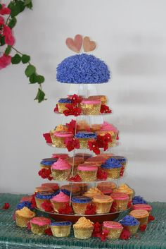 melbourne baker - Moroccan wedding cake tower