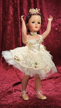 "Very Rare American Portrait Doll ""Deborah Ballerina"" by Alexander, circa 1951"