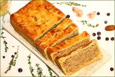 Кулинарная фантазия на тему СТРАСБУРГСКОГО пирога - Ржаной на закваске и не только