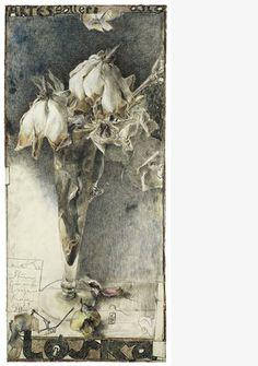 Art is a journey into the most unknown thing of all - oneself. Horst Janssen, Illustrator, Still Life Flowers, Art For Art Sake, Sacred Art, Botanical Art, Matisse, Art Sketchbook, Gouache
