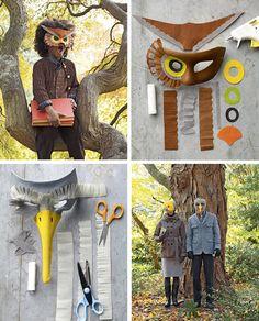 owl/bird mask for the big kid halloween costume Halloween Masks, Holidays Halloween, Halloween Fun, Owl Mask, Bird Masks, Mardi Gras, Bird Costume, Animal Masks, Cute Costumes