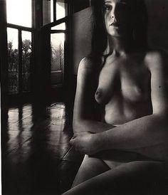 Bill Brandt - Nude, Campden Hill, London, 1954