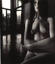 Bill Brandt - Nude, Campden Hill, London, 1954