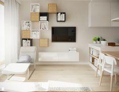 Salon - zdjęcie od Karolina Krac architekt wnętrz - Salon - Styl Nowoczesny…