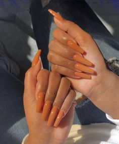 Here are the 10 most popular nail polish colors at OPI - My Nails Brown Acrylic Nails, Best Acrylic Nails, Brown Nails, Coffin Nails Long, Long Nails, Short Nails, Aycrlic Nails, Hair And Nails, Uñas Fashion