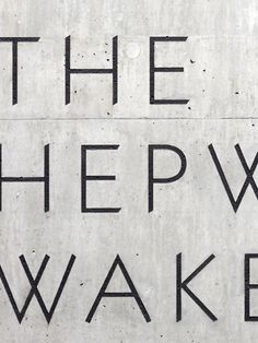 A Practice For Everyday Life (APFEL) with David Chipperfield Architects | Hepworth Wakefield identity and signage (photo by Kilian O'Sullivan)
