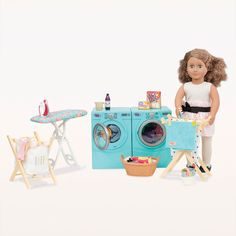 Our Generation - Tumble & Spin Laundry Set