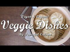 お肉不使用!食べたい時に簡単に作れる『大豆ミートのふっくら肉まん』の作り方 | Veggie Dishes by Peaceful Cuisine