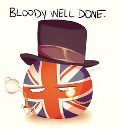 Britain Ball by MortemOdium That something Ron Weasley would say Flag Country, Country Art, England Funny, Hetalia Funny, Jokes Pics, Comic, History Memes, Human Art, Great Britain