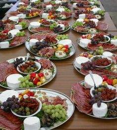 Anti Pasti sharing platter from Abbotside Events