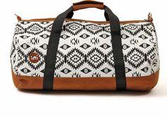 cestovní taška MI-PAC - Duffel Native Black/White 078 (078)