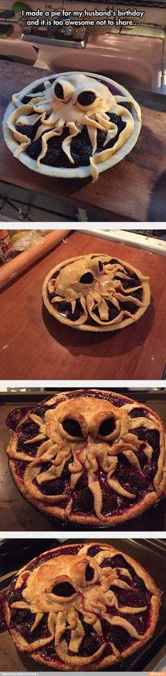 Octopus pie