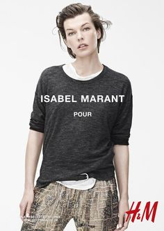 Isabel Marant for H&M Campaign with Daria Werbowy, Milla Jovovich, Alek Wek + More