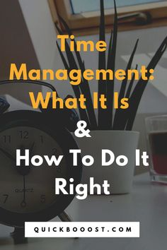 The Time Management Guide: What It Is And How To Do It Right Time management is a necessity when it comes to making use of your 24 hours each day. Learn what time management is and how to do it right in this essential guide! Time Management Activities, Time Management Printable, Time Management Planner, Time Management Quotes, Time Management Tools, Effective Time Management, Time Management Strategies, Property Management, High School Activities