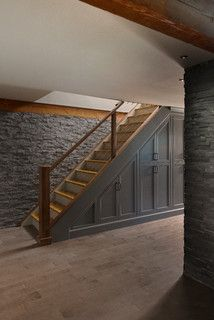 Sudbury - traditional - staircase - boston - by Pinney Designs