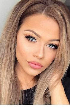 39 Everyday Makeup Ideas For Beautiful Ladies - Frisuren & Make-up - Maquillaje Beauty Make-up, Beauty Hacks, Hair Beauty, Beauty Tips, Beauty Products, Everyday Makeup Routine, Makeup Tutorial For Beginners, Beginner Makeup, School Looks
