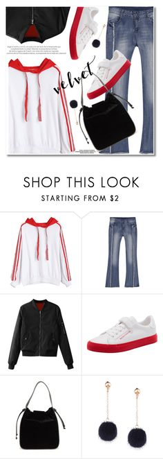 """""""Velvet"""" by fshionme ❤ liked on Polyvore featuring French Connection and velvet"""