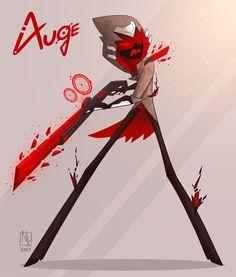 Cryssalid Rifleman Auge, Zeke Kieu on ArtStation at https://www.artstation.com/artwork/6VvP6