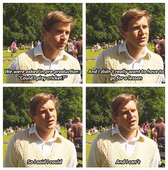 Allen Leech || Downton Abbey || He's just so adorable.