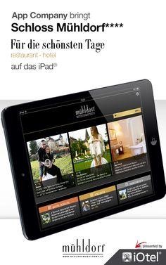 Schloss Mühldorf App: App Company Oberösterreich - die Appagentur aus Linz - bringt Schloss Mühldorf - für die schönsten Tage - auf das iPad®