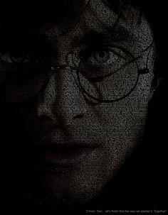 Harry Potter Text Art version 1 by MattShadoinDesign.deviantart.com on @deviantART